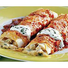 BREAKSTONE'S Creamy Sour Cream Chicken Enchiladas