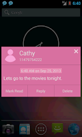 Screenshot of SMS Notifier (SMS Popup)