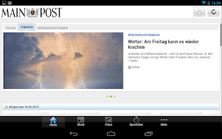 Screenshot of Main-Post