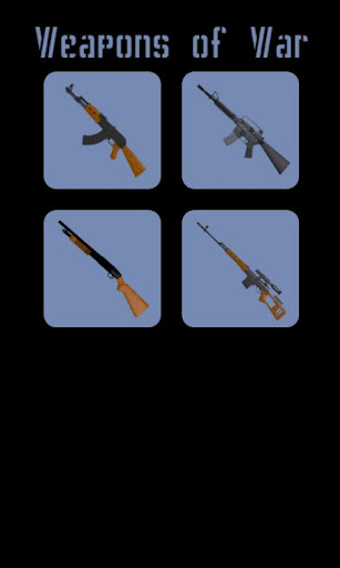 weapons-of-war for android screenshot