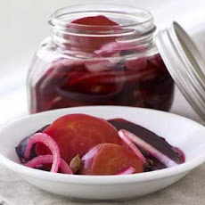 Pickled Red and Gold Beets