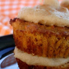 Double Decker Carrot Cake Cupcakes