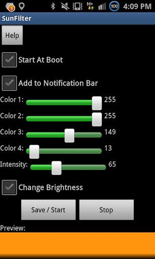 SunFilter - Screen Temperature