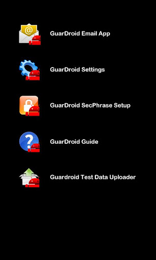 GuarDroid User Study Pack