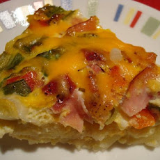 Potato, Ham & Cheese Bake