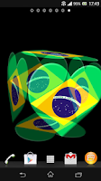 Screenshot of 3D Brazil Live Wallpaper