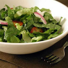 Romaine Salad with Avocado-Lime Vinaigrette