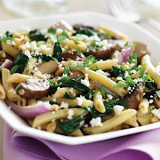 Penne Tuscana with Spinach