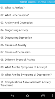 Screenshot of audio book anxiety depression