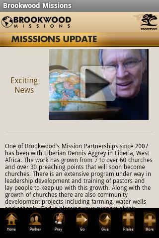 Brookwood Church Missions App