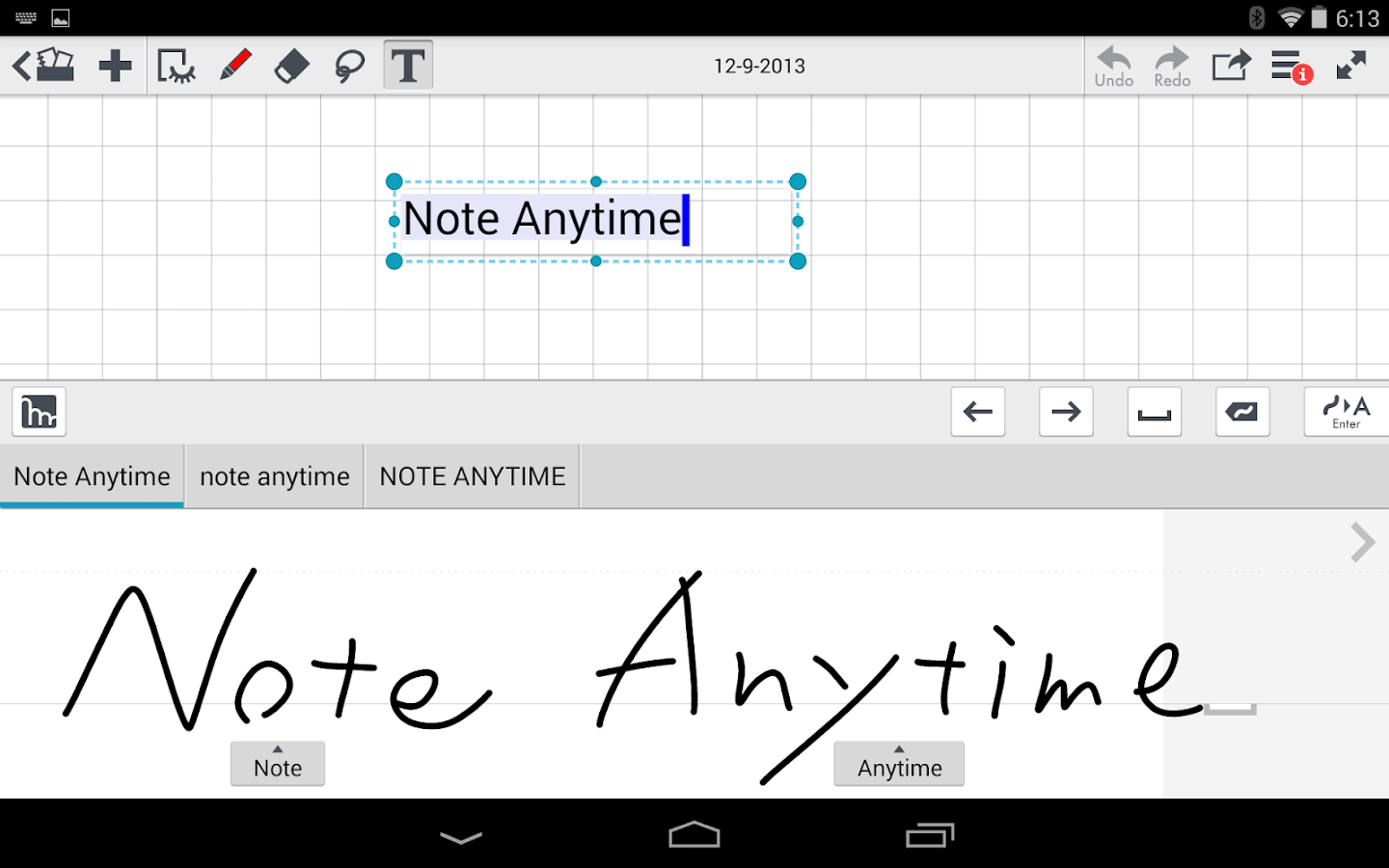 mazec3 Handwriting Recognition Screenshot 2