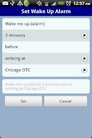 Screenshot of QikRide: Chicago Metra