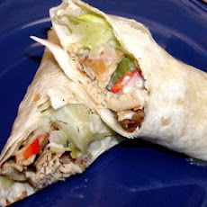 Greek Chicken Tortilla Roll-Ups