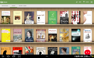 Screenshot of Aldiko Book Reader