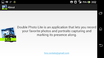 Screenshot of Double Photo Lite