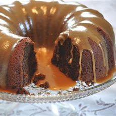 Pumpkin Chocolate Dessert Cake
