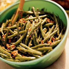 Green Bean Salad with Bacon