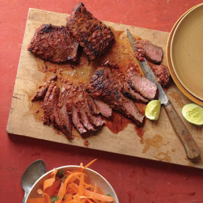 Thai Skirt Steak with Carrot Salad