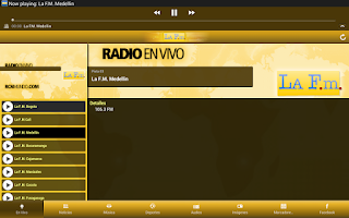 Screenshot of La F.m.
