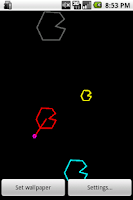 Screenshot of Node Battle Wallpaper Freeware