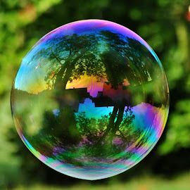 SOAP BUBBLE by Paula Guerra - Abstract Macro ( soap bubbles )