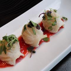 their gluten friendly crispy shrimp dumplings