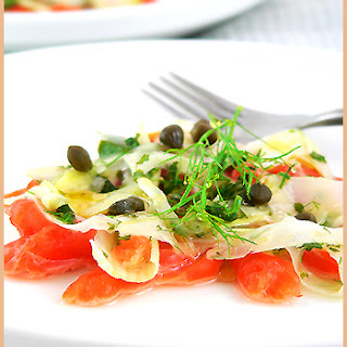 Fennel Salmon Carpaccio