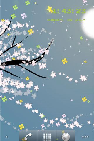 flower5 라이브 배경 화면 라이트