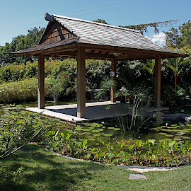 Japanese Garden by Valentin Rodriguez A - City,  Street & Park  City Parks (  )