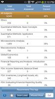 Screenshot of L1 CFA® Exam TestBank