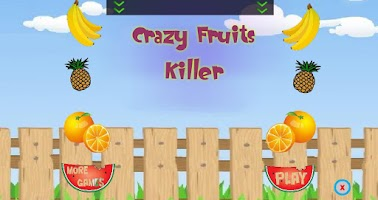 Screenshot of Crazy Fruits Killer