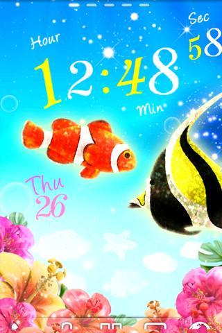 Tropical Fish ライブ壁紙 トライアル
