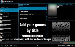 Screenshot of CLZ Games - Game Database