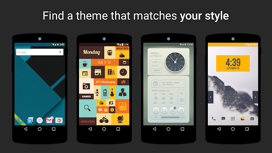 Themer: Launcher, HD Wallpaper Screenshot