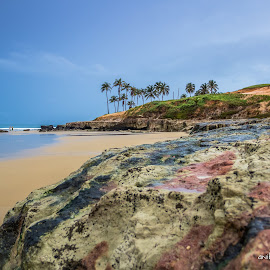 A praia by Anibal Lopes - Landscapes Beaches ( water, sum summer, sky, beach )