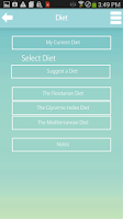 Screenshot of Diet Plan