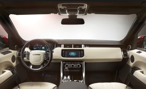 New Range Rover Interior