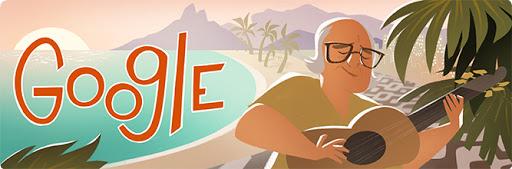 Google Doodle Vinicius de Moraes's 100th Birthday
