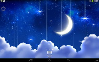 Screenshot of Starfall Live Wallpaper