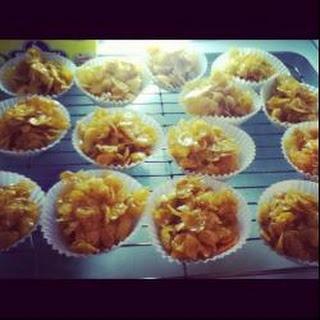 Cornflake Cakes Without Chocolate Recipes