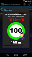 Screenshot of Detector de Radares Gratis