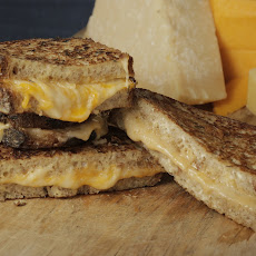 Mario Batali's Fancy Grilled 3 Cheese Sandwiches