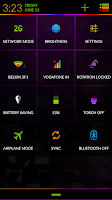 Screenshot of Neon Colors Theme CM11/AOKP