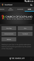 Screenshot of Church of Southland
