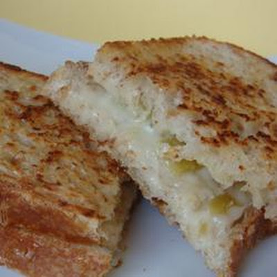 Green Chili Grilled Cheese