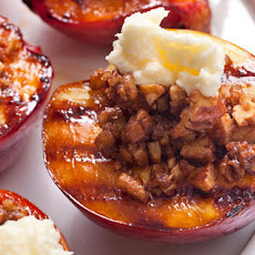 Grilled Nectarine Crumble Recipe
