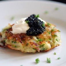 Zucchini and Chile Latkes