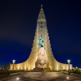 Hallgrímskirkja Church by David Long - Buildings & Architecture Places of Worship