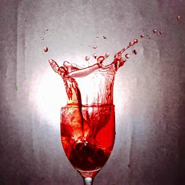 Red Splash by M Ihsan - Food & Drink Alcohol & Drinks (  )
