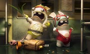 Rayman Raving Rabbids TV Party